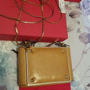 Valentino small crossbody leather bag